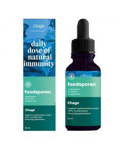 Chaga Paddenstoelen Extract (Foodsporen)