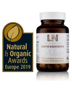 Ashwagandha Alive - Fermented Ashwagandha - Bio (Living Nutrition) 60caps
