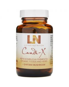 Candi-X Kefir-Kombucha+Shiitake - Bio (Living Nutrition) 60caps