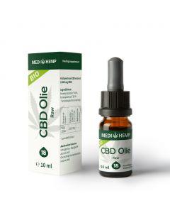 CBD Olie Raw - Bio 18% 10ml