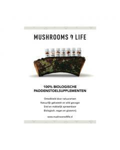 Mushrooms4Life Poster A1 Capsules