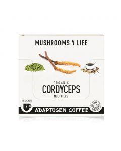 Cordyceps Power Paddenstoelen Koffie Sachet 1000mg Bio (Mushrooms4Life) 3gr
