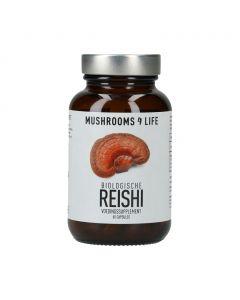 Reishi Capsules - Bio (Mushrooms4Life) 60caps