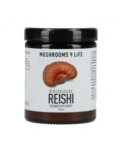 Reishi Poeder - Bio (Mushrooms4Life) 60gr