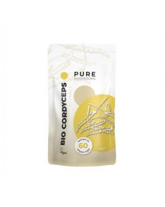 Cordyceps Paddenstoelen Extract Capsules Bio (Pure Mushrooms) 60caps