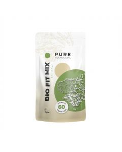 Pure Fit Mix Paddenstoelen Extract Capsules Bio (Pure Mushrooms) 60caps
