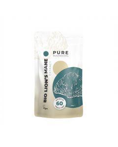 Lion's Mane Paddenstoelen Extract Capsules Bio (Pure Mushrooms) 60caps