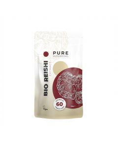 Reishi Paddenstoelen Extract Capsules Bio (Pure Mushrooms) 60caps