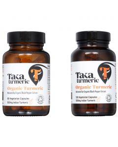 Turmeric Capsules- Bio  (Taka Turmeric)
